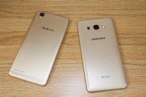 Samsung J5 Vs Oppo F1 galaxy j5 2016 vs oppo f1 â æ u thẠcá a kẠsinh sau
