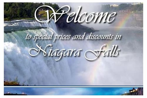 niagara falls hotel deals coupons