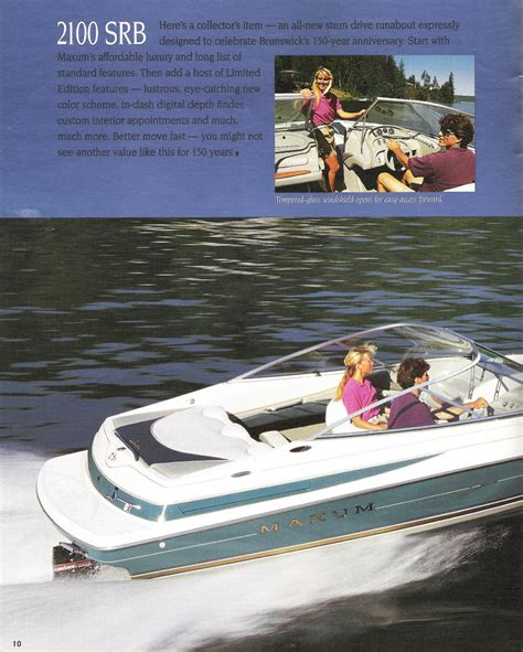 maxum boats forum 1995 maxum 2100srb brochure maxum boat owners club forum