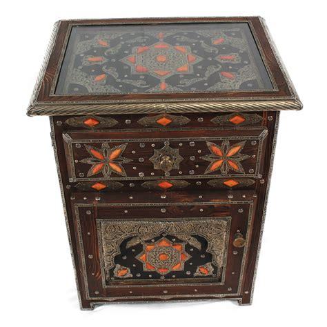 nachttisch orientalisch orientalischer nachttisch khalifa bei ihrem orient shop