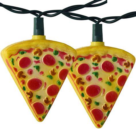 pizza string lights pizza slice light set string lights