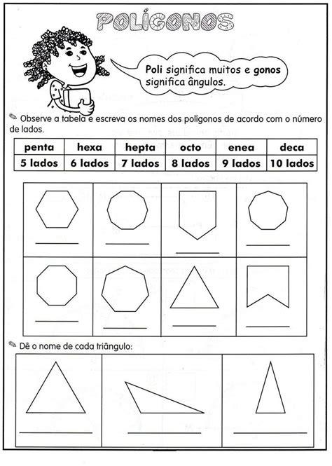figuras geometricas quarto ano 74 mejores im 225 genes de pol 237 gonos y cuerpos s 243 lodos en