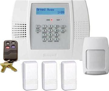honeywell lynx plus wireless home security alarm system