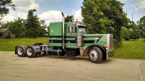 Flat Top Sleeper Trucks For Sale by Peterbilt 379 Classic 2007 Sleeper Semi Trucks