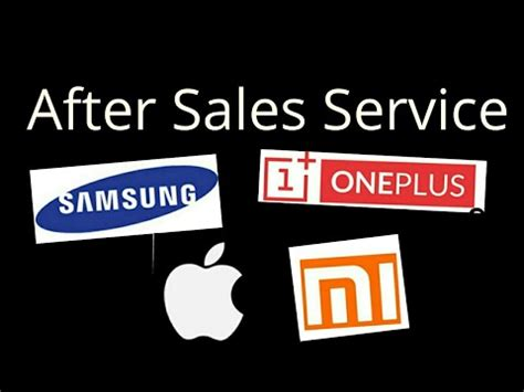 after sales service who is best apple samsung mi oneplus non brand in