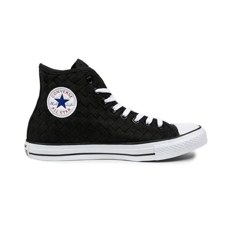 All Converse Ct2 Premium All White Hi converse all premium hi canvas woven black black