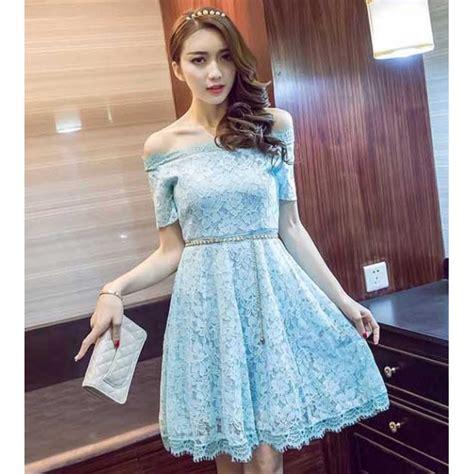Dress Import Brukat dress brukat import d3963 moro fashion