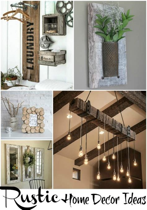 ideas for home decor diy rustic country decor gpfarmasi e903a00a02e6
