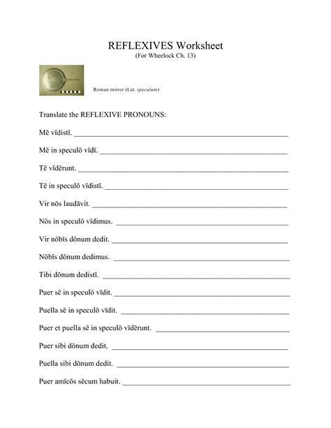 Reflexive Verbs Worksheet by 16 Best Images Of Reflexive Pronouns 2nd Grade Worksheets