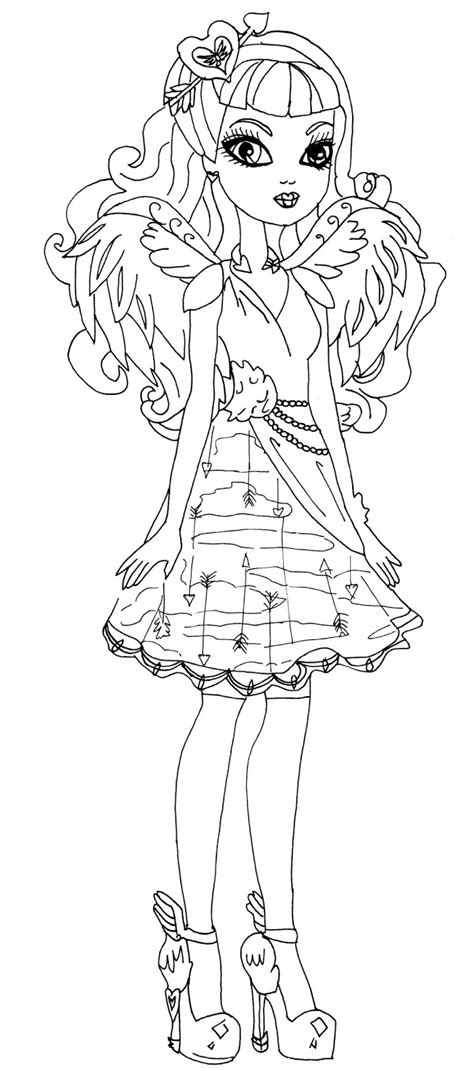 ever after high coloring pages ashlynn ella free printable ever after high coloring pages c a cupid