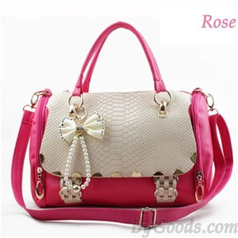 Fashion V Ethics Guess What Our Designer Bags Are Made Of by Retro Sweet Bow Handbag Shoulder Bag Just