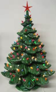 best 25 ceramic christmas trees ideas on pinterest