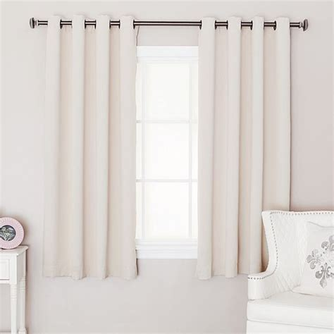 should curtains go to the floor what is the best length for your bedroom curtain best