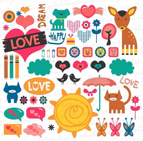 free layout sticker printable love stickers for scrapbooking yspages com