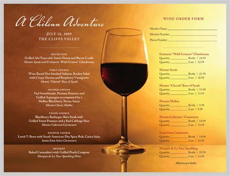 design wine menu 18 wine menu design inspiration sles uprinting