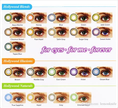 best colored contacts brand contact lenses with inside colored contact