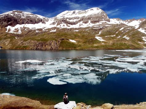 pyrenees mountains spain emerald water anglers