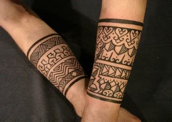 tribal bands by dan dimattia tattoonow
