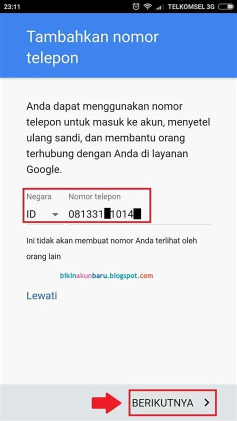 cara membuat account gmail lewat hp cara buat akun gmail baru lewat hp android lengkap dengan