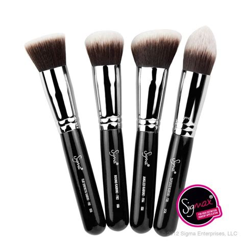 Sigma Kabuki Brush sigma synthetic kabuki kit 4 brushes i makeup