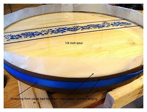 diy pourable clear epoxy bar top  table top resin