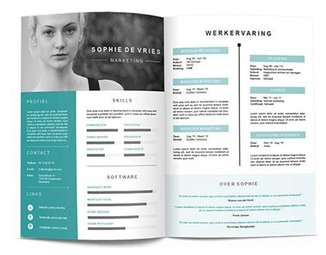 Sjabloon Zakelijk Cv brochure cv zakelijk copy min 1 jilster