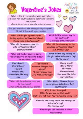 printable valentine jokes valentine s day jokes for kids