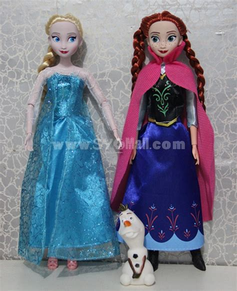 Set Gamis Frozen Elsa No 9 9 10thn frozen princess figures figure doll 33cm 13 0 quot