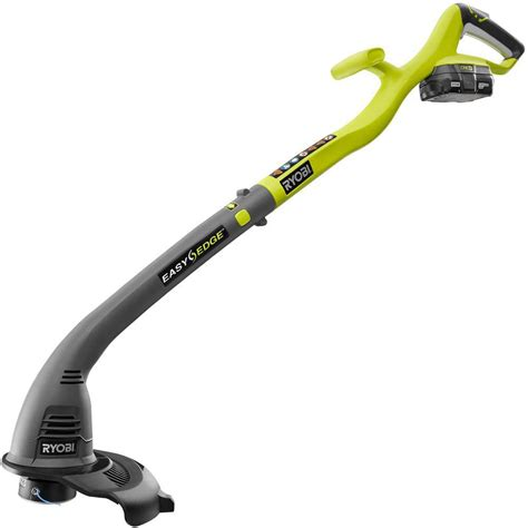 home depot paint trimmer ryobi reconditioned one 18 volt lithium ion cordless
