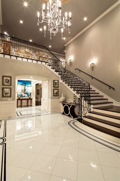 Entrance Stairs Design 15 Extremely Luxury Entry Designs With Stairs
