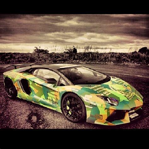 Camo Lamborghini Camo Oakley Designed Lamborghini Aventador Lp760 4