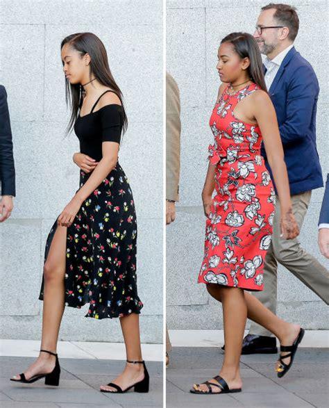obama 2016 sasha phong c 225 ch thời trang của hai c 244 g 225 i nh 224 obama vmode vn