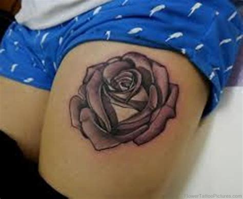 rose tattoo on thigh 70 pretty tattoos on thigh