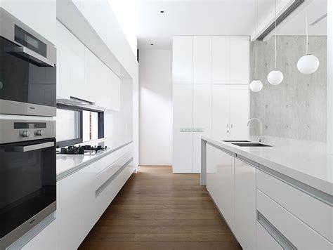 minimal kitchen cabinets kitchen design idea white modern and minimalist cabinets contemporist