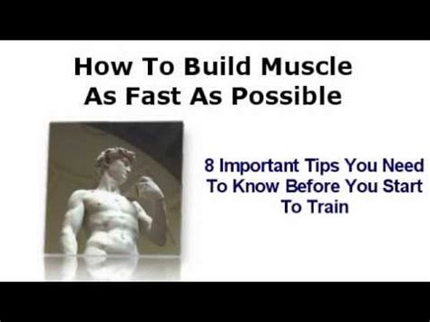 11 tips you need to know before building a shipping 8 bodybuilding tips you need to know before training how