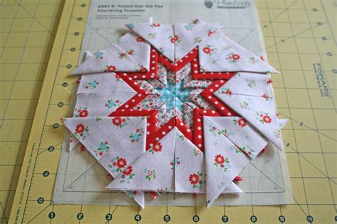 Folded Paper Ornament Pattern - lovely handmades a folded tutorial