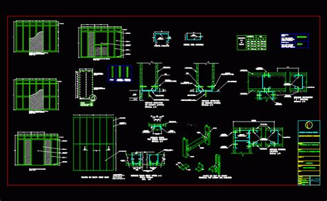 details drywall dwg detail  autocad designs cad