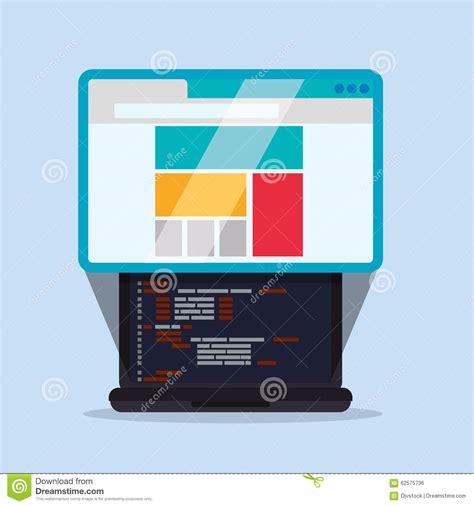 homepage design concepts web site design stock vector image 62575736