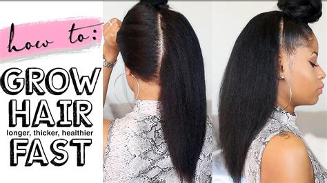 do you have to have thick hair to have lisa renyas style how to grow hair long thick healthy fast 4 easy steps