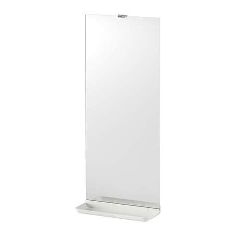 Ikea Bathroom Mirror With Shelf | lejen mirror with shelf white 25x61 cm ikea