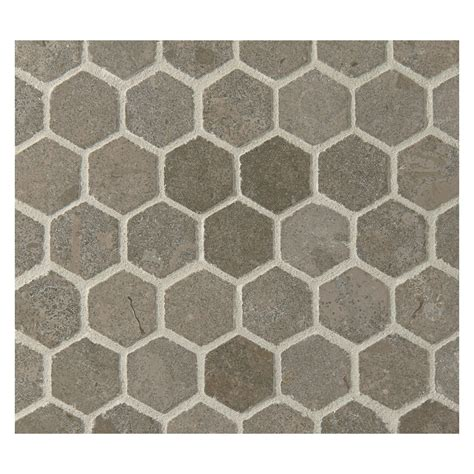 mosaic hexagon pattern hexagon stone mosaic tile pattern