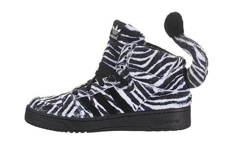 zebra pattern adidas archive adidas jeremy scott zebra sneakerhead com g95749