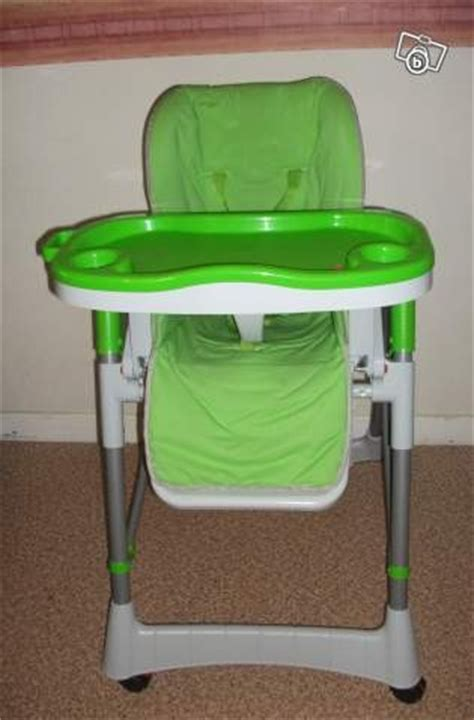 chaise haute bambisol chaise haute bambisol vert anis gris de 2009