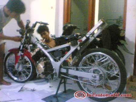 Bor Up Satria Fu bore up suzuki satria fu 150 jadi 200 cc untuk puasin drag