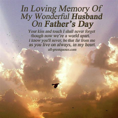 fathers day poems to my husband husband and in heaven quotes quotesgram
