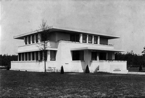 woonboot doesburg 1915 1919 robert van t hoff villa henny huis peeters