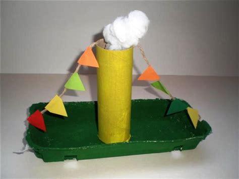 zeilboot surprise sinterklaas ruimtelijk knutselen 3d knutselen