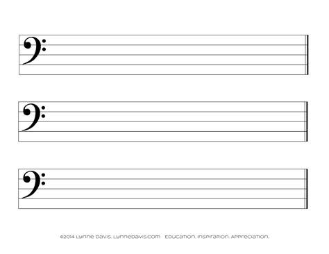 bar lines g clef landscape samples music paper printable music paper