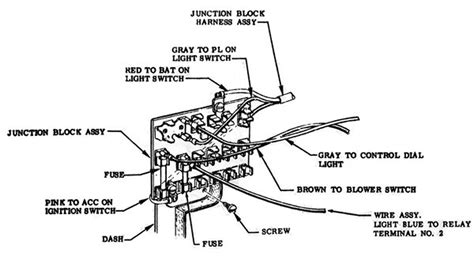 1957 chevy bel air fuse box wiring 1957 free engine