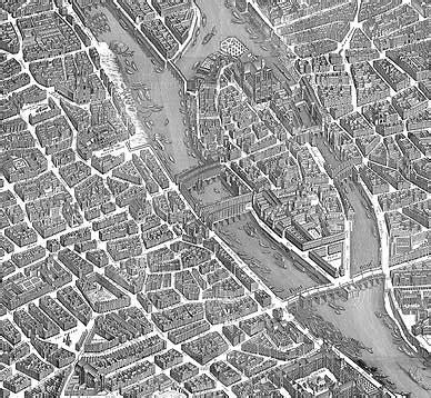 turgot : paris 1730 d'après les plans de turgot, hotel de